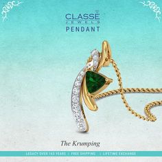 #Stylish #DiamondPendant Designs! To see more designs visit @ https://www.classejewels.com/jewellery/pendants-3.html #NamasteClasse #Offer #GoldCoin #Wedding #Engagement  Like, Share, Comment