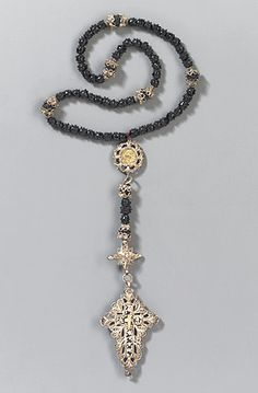 German antique rosary