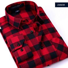c26dae88b6a4 New Flannel Men Plaid Shirts Luxury Slim Long Sleeve Design Formal Business  Fashion Dress Warm Shirts