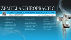 Zemella Chiropractic  Santa Barbara Chiropractor 3022 State St. Suite B Santa Barbara, CA 93105 Phone: 805-687-6629 Fax: 805-687-0675 Chiropractic Adjustment, Chiropractic Wellness, Meditation Practices, Sciatica, Muscle Groups, Neck Pain, Better Health, Way Of Life, Santa Barbara