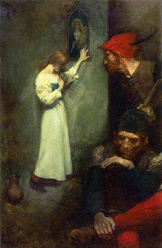 Howard Pyle, Guarded by Rough English Soldiers, 1904.