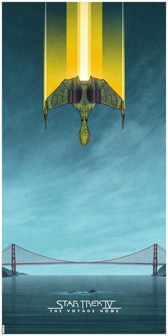 Original 'Star Trek' Movie Posters Illustrated by Matt Ferguson