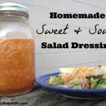 Homemade Sweet & Sour Salad Dressing