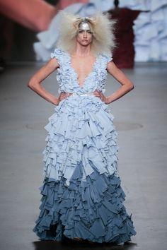 Monique Collignon Haute Couture Winter 2015 Model: Shanice Beerepoot
