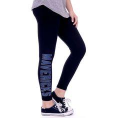 Dallas Mavericks Miss Fanatic Women's Fashion Leggings - Black