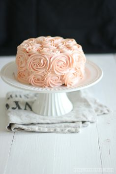My Very First Time Frosting a Cakeby Feel Wunderbar Blog