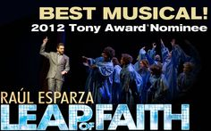 "@Syracuse University alum Daryl Roth is the producer of ""Leap of Faith"""