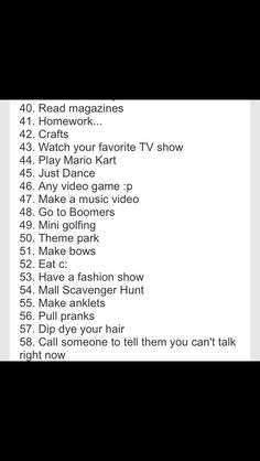 100 Things To Do With Your Best Friends
