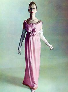 1960 - Balenciaga evening dress
