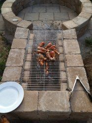 Inbox – smithmark02@gmail.com Diy Fire Pit, Grill Pan, Easy Diy, Grilling, Griddle Pan, Grill Party