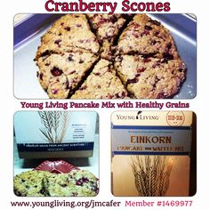 Afternoon coffee and scones!! I love using my Einkorn Pancake mix in place of unhealthy grains!! www.youngliving.org/jmcafer #1469977 #einkornwheat #GMOfree #scones #cranberry #vegan #cleaneating #whole9 #colorfulnutrition #youngliving #essentialoils #natural #naturopath #holistic #health #wellness #lavenderladies #triharmonyoilers #lavender #nutrition #recipe #floursubstitute
