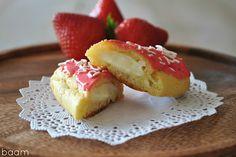 Beti Vanilla: Strawberry and Vanilla Eclairs