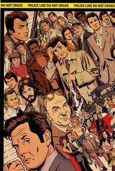 Cops, Detectives and Private Eyes of the 70′s by Dusty Abell