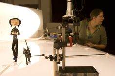Coraline ~ Behind the scenes of this animated film.