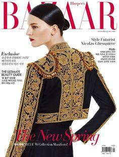 Cover - Best Cover Magazine  - Laura Kampman - Harper's Bazaar Korea April 2013 Cover...   Best Cover Magazine :     – Picture :     – Description  Laura Kampman – Harper's Bazaar Korea April 2013 Cover  -Read More –