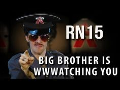 Big Brother is WWWatching You - feat. George Orwell [RAP NEWS 15] - http://vspvideo.com/big-brother-is-wwwatching-you-feat-george-orwell-rap-news-15/