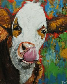.Another great cow painting!!!