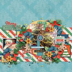 Vintage Christmas by Blagovesta Gosheva and Krystal Hartley http://www.sweetshoppedesigns.com//sweetshoppe/product.php?productid=38221&cat=961&page=2 All about Christmas by Tinci Designs  http://store.gingerscraps.net/All-about-Christmas.html
