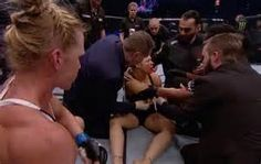 holly holm beats ronda rousey - YES!!!!