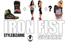 WIn a PRIZE PACK of IRON FIST ITEMS! CLICK ON THE PICTURE TO ENTER THE GIVEAWAY!