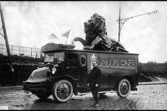 Part of the publicity caravan during the 1930 Tour de France.