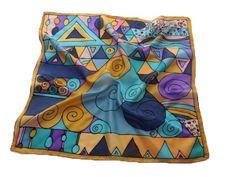 silk scarf inspiration - Google Search