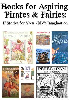 """Books for Aspiring Pirates and Fairies by Carrots for Michaelmas Brought to you by BlogHer and Disney's """"The Pirate Fairy,"""" an All-New Tinker Bell Movie on Blu-ray and Digital HD Apr 1"""