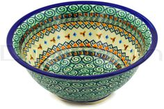 Polish Pottery Stoneware BOWL - clearance