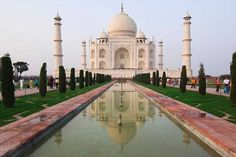 One of the New7Wonders: Taj Mahal, checked off my list in Jan 2008