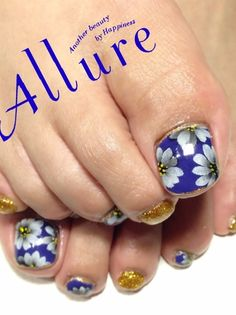 Looking for Toe Nail Art Ideas? Check out our post on 'Toe Nail Art Ideas for Spring and tell us your thoughts! Foot Pedicure, Pedicure Nail Art, Toe Nail Art, Acrylic Nails, Pedicure Designs, Toe Nail Designs, Pretty Pedicures, Pretty Nails, Nail Art And Spa