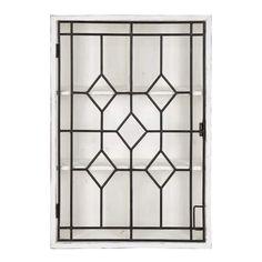 Window Grill Design Modern, Modern Farmhouse Design, Farmhouse Chic, Window Design, Cubby Shelves, Display Shelves, Shelf, Whitewash Cabinets, Rustic Wood Background