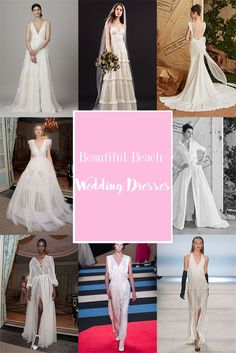 A Wedding Event at the beach requires a soft cloth, here befashionstyle will review about 49 style wedding dress for the event at the beach.