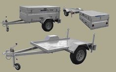 Alloyworks - Aluminium Transporter Combination Trailers