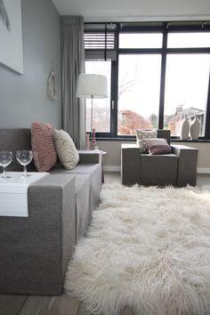 Kartonnen inrichting Full house meubelverhuur