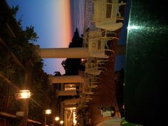"Our Restaurant ""La Pergola"" at sunset...good food and music for a special night in Sorrento!"