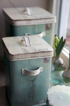 ,Vintage canisters