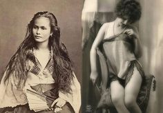 The Ever-Changing Female 'Ideal,' Beauty Captured in 12 Postcards of Women Over a Century Ago