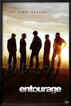 Poster Entourage - Season 8