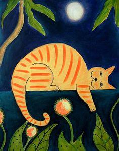 Cat Nap - Shelba King