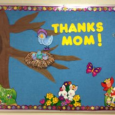 My Room- mothers' day bulletin board
