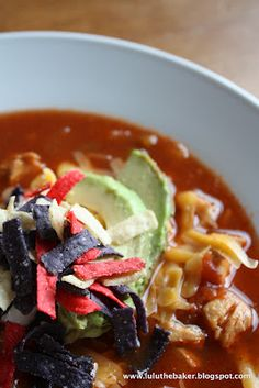 I really need to find a place around here that has great tortilla soup. There has to be one somewhere!