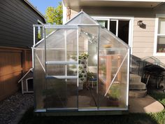 harbor freight greenhouse Harbor Freight Greenhouse, Outdoor Projects, Hydroponics, Greenery, Outdoors, Gardening, Plants, Ideas, Decor