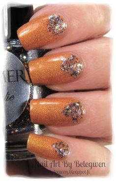 Nail Art by Belegwen: Shimmer Polish: Natalie