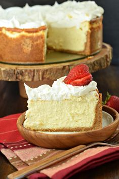 Perfect Vanilla Cheesecake Recipe on Yummly. @yummly #recipe