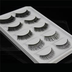 6f8b7a1c8d3 Cheap eyelash extension, Buy Quality fake eyelashes directly from China false  eyelashes Suppliers: False eyelashes 5 styles/pairs mixed thick cross fake  ...