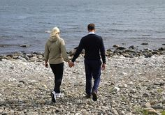 Crown Princess Mette-Marit and Crown Prince Haakon visited Kragerø town