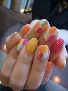 Nail design collection blog of gel nail salon Mani Closet presided over Nozomi Tsutsui of Shinsaibashi! #nail #nails #nailart #unha #unhas #unhasdecoradas