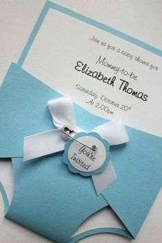 Tarjeta de paal para baby shower Shower invitations Babies and