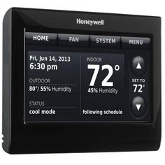 7-Day Wi-Fi Smart Programmable Thermostat with Voice Control. Very cool.