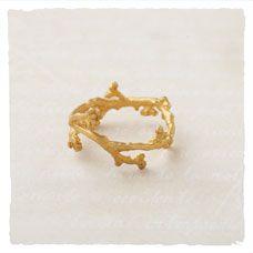 Tendrils of Gold Ring